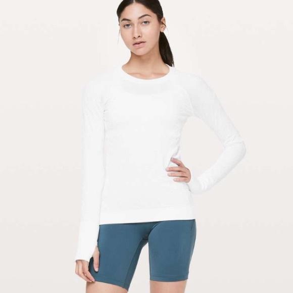 Lululemon   Rest Less Pullover in White